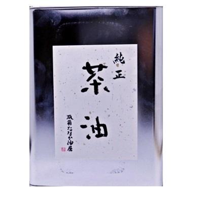 純正茶油 缶3600g