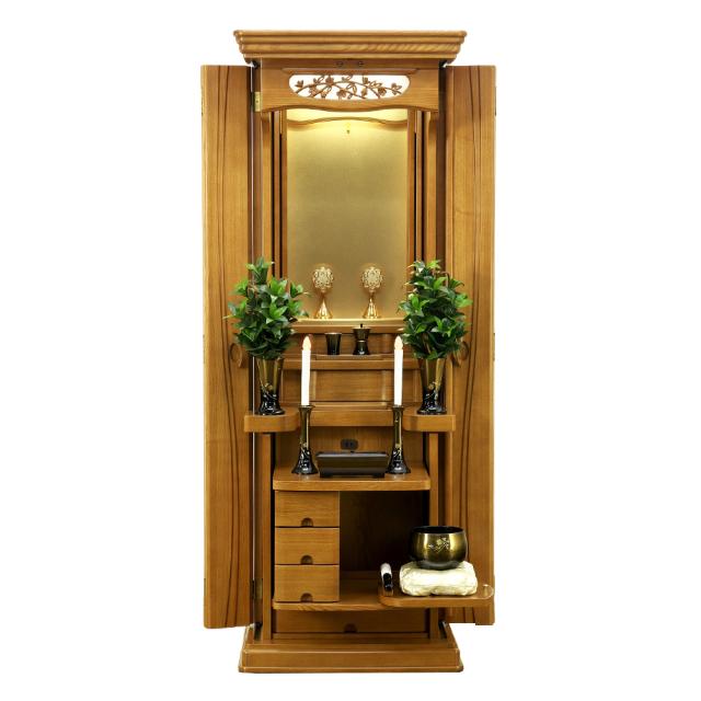 家具調仏壇 ドレイプ ライト