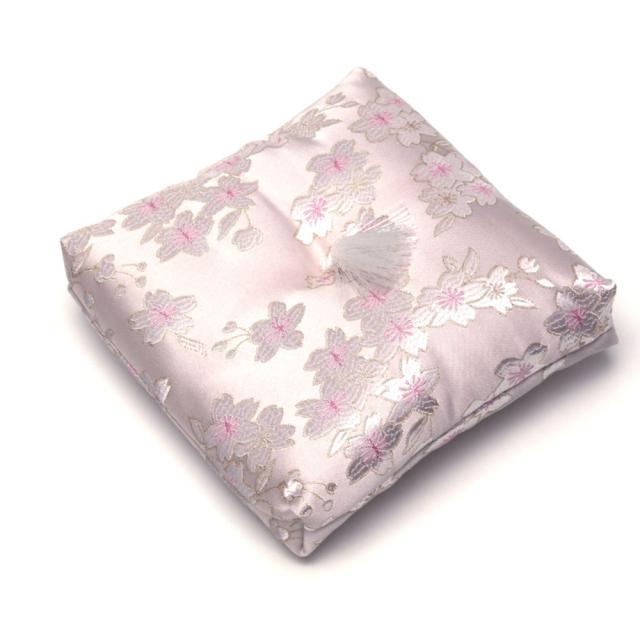 りん布団 桜柄 ピンク