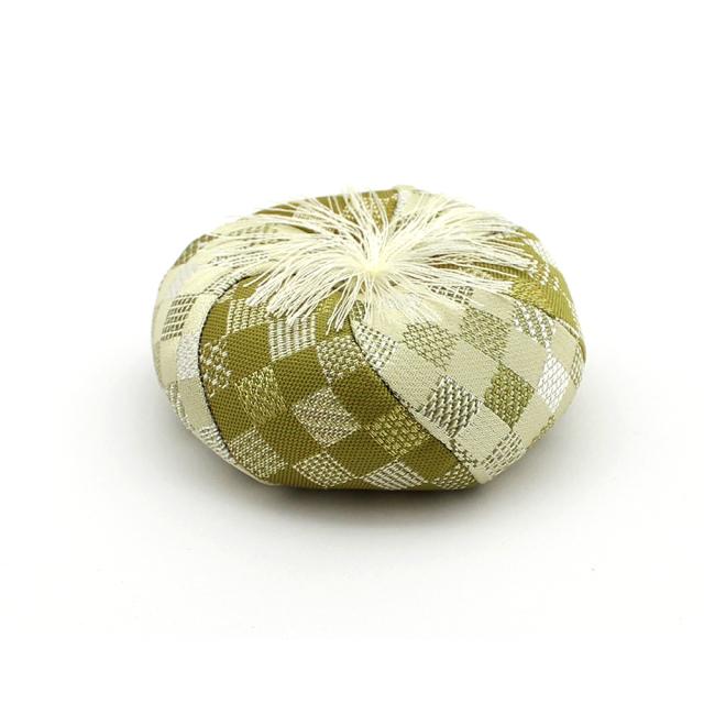 いにしえりんセット 丸布団 緑