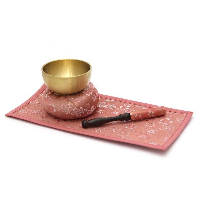 かのんりんセット 丸布団 ピンク