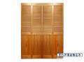 サイズ(1217×2015×34) 四枚折戸 オリジナル 木製クローゼットドア 1424