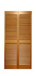 サイズ(606×1708×34) 二枚折戸 オリジナル 木製クローゼットドア 1423