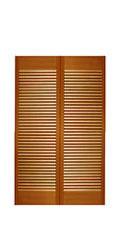 サイズ(606×1404×34) 二枚折戸 オリジナル 木製クローゼットドア 1423