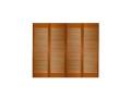 サイズ(1217×1404×34) 四枚折戸 オリジナル 木製クローゼットドア 1423