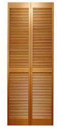 サイズ(606×2015×34) 二枚折戸 オリジナル 木製クローゼットドア 1423