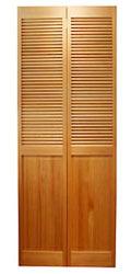 サイズ(606×2015×34) 二枚折戸 オリジナル 木製クローゼットドア 1424