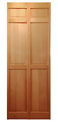 サイズ(606×2015×34) 二枚折戸 オリジナル 木製クローゼットドア 1460