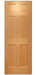 サイズ(610×2032×35) シンプソン 木製室内ドア 66