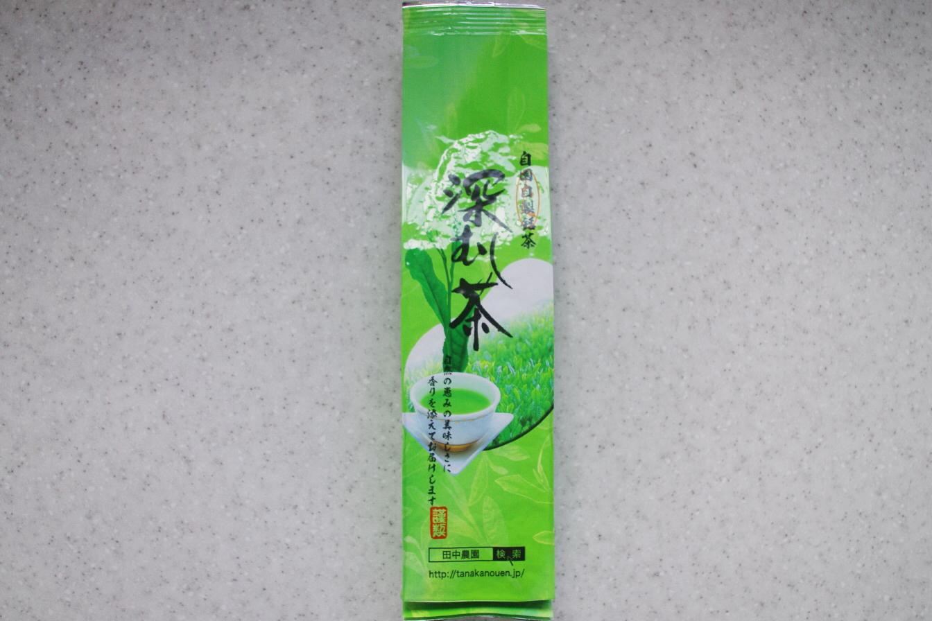 深蒸し茶 200g入 (シール無)
