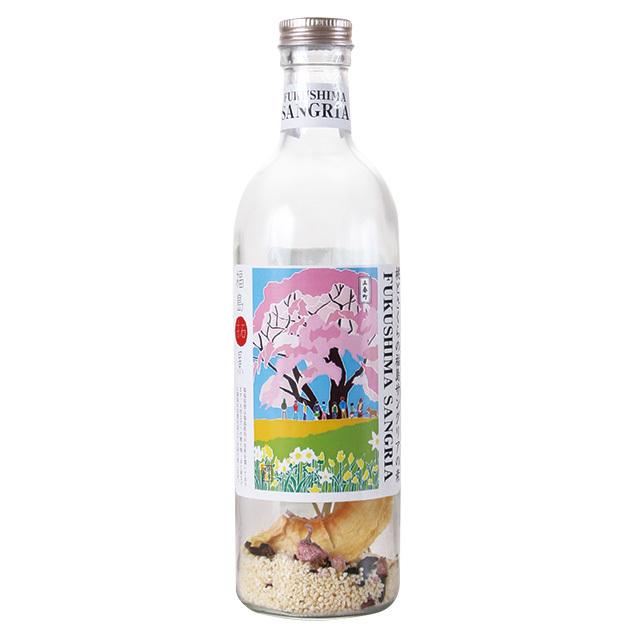 桃とさくらの福島サングリアの素