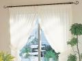 送料無料 センタークロスカーテン フリルタッセル2本付き LS-60491~60494 リリカラ スタイルカーテン