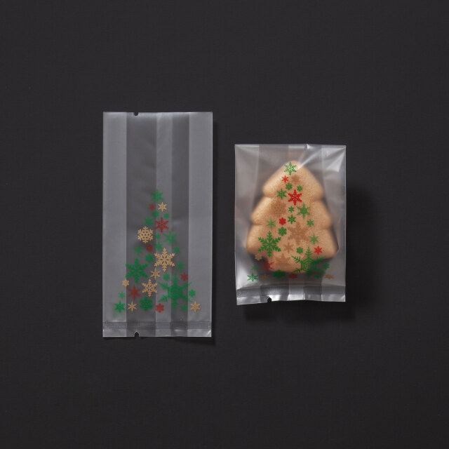 [個包装袋117] クリスマスツリー