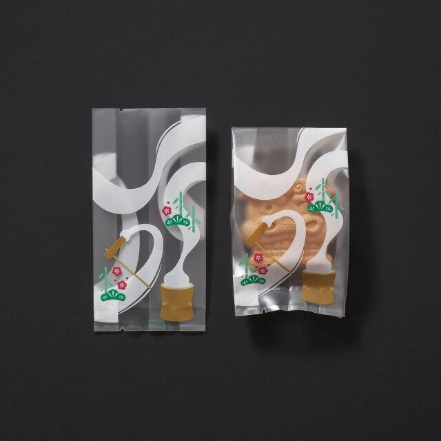 [個包装袋136] 餅つき