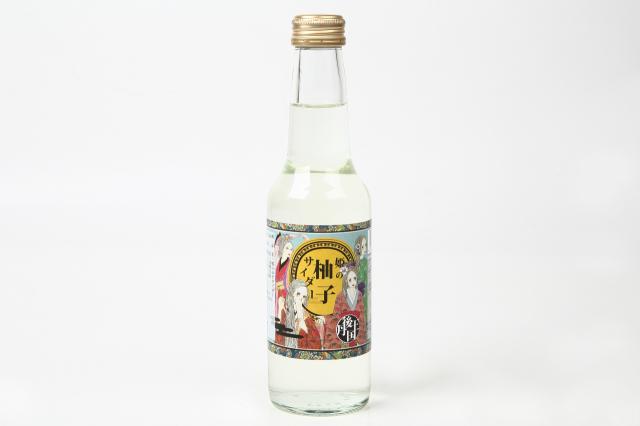柚子の香が上品な後味。京都の道の駅丹後王国「食のみやこ」オリジナルゆずサイダー 10本セット