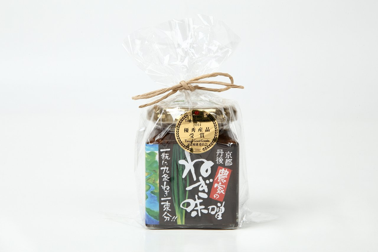 京都丹後コシヒカリとの相性がばっちり。京都丹後の農家が作ったネギ味噌