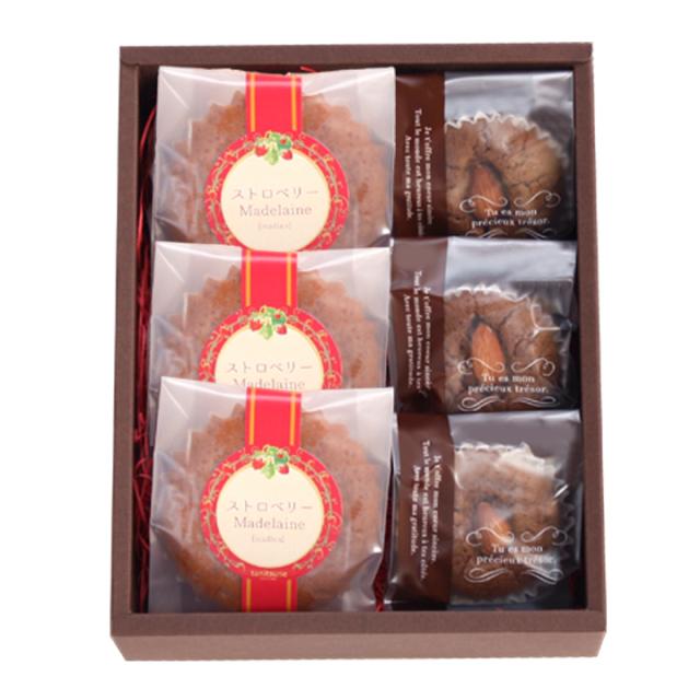 苺マドレーヌ,焼き菓子,谷常,チョコレート