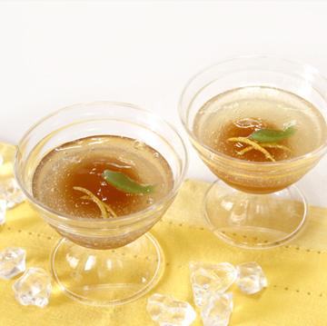 紅茶,レモン,葛,涼菓
