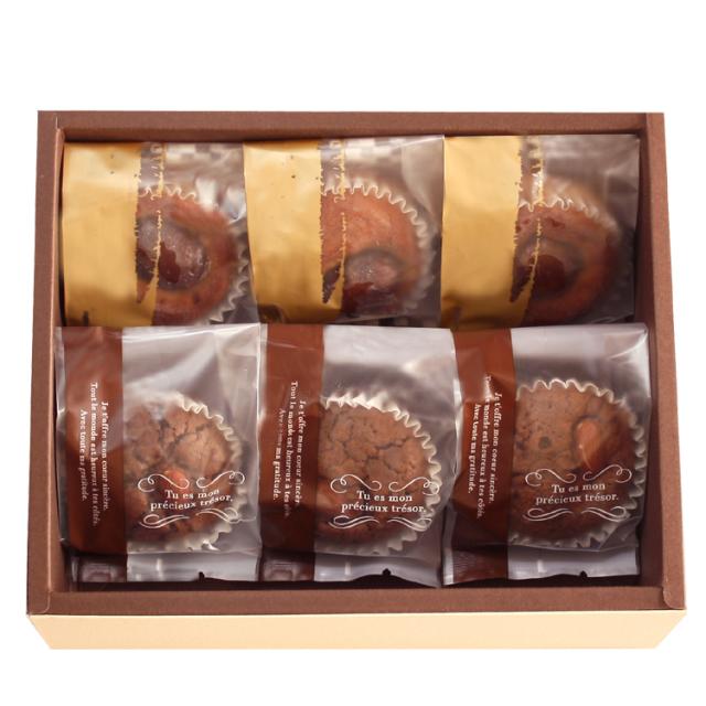 ショコラブラウニー,焼き菓子,ギフトセット,谷常,栗