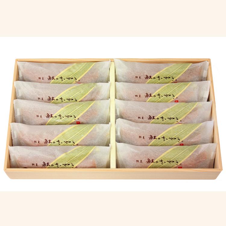 鮎のささやき 10本入(木箱)
