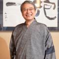 【送料無料】桐生シルク作務衣(本場結城紬パッチワーク入り) 日本製