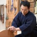 【送料無料】本藍染作務衣 男性用 日本製 歴史ある綿の産地・遠州で織った作務衣