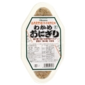 有機活性発芽玄米わかめおにぎり 2個入り