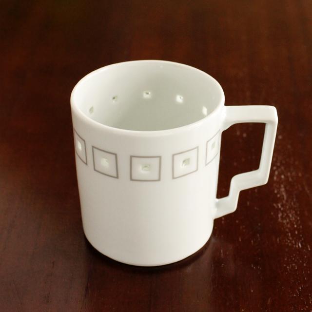 水晶アールデコT-スタイルマグカップ