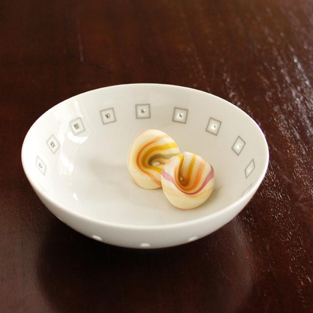 水晶アールデコ多用鉢(小)