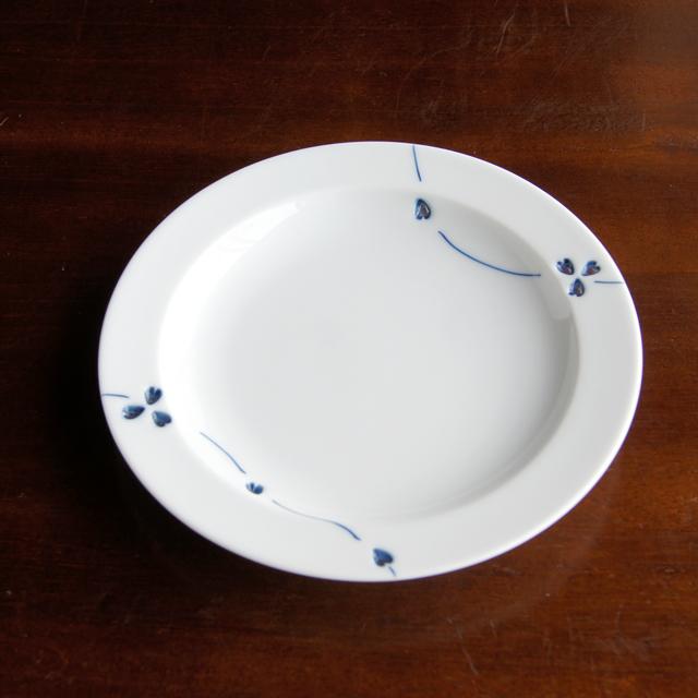 カラー花あそびT-スタイルプレートS(ブルー・レッド)