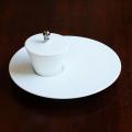 【水晶彫の丹心窯】アミューズカップ 白
