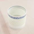 水晶青海波 ロックグラス(1個入り)