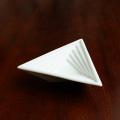 【水晶彫の丹心窯】スパイラル小鉢 トライアングル