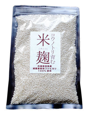 コウノトリ育む米麹(乾燥米麹)