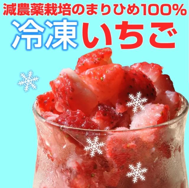 『冷凍いちご500g』