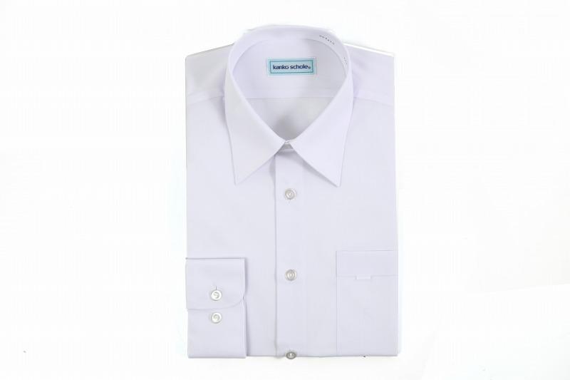 kanko形態安定スクール男子長袖ワイシャツ