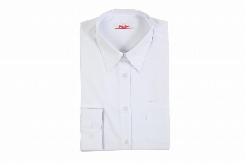 kankoかなり透けない女子中高生長袖ワイシャツ
