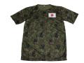 プリントTシャツ 日の丸JGSDF【速乾DRY半袖Tシャツ(迷彩)】【ゆうパッケト可】