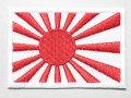 ワッペン:自衛艦旗 ODベルクロ付 【ゆうパケット可】