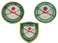 桜刀ワッペン【陸上自衛隊公認】【ゆうパケット可】