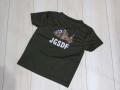 自由に選べる 子供用プリントTシャツ(背中プリント) 【ゆうパッケト可】