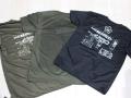プリントTシャツ(Wマーク・9mm機関拳銃諸元)(背中プリント)【ゆうパッケト可】