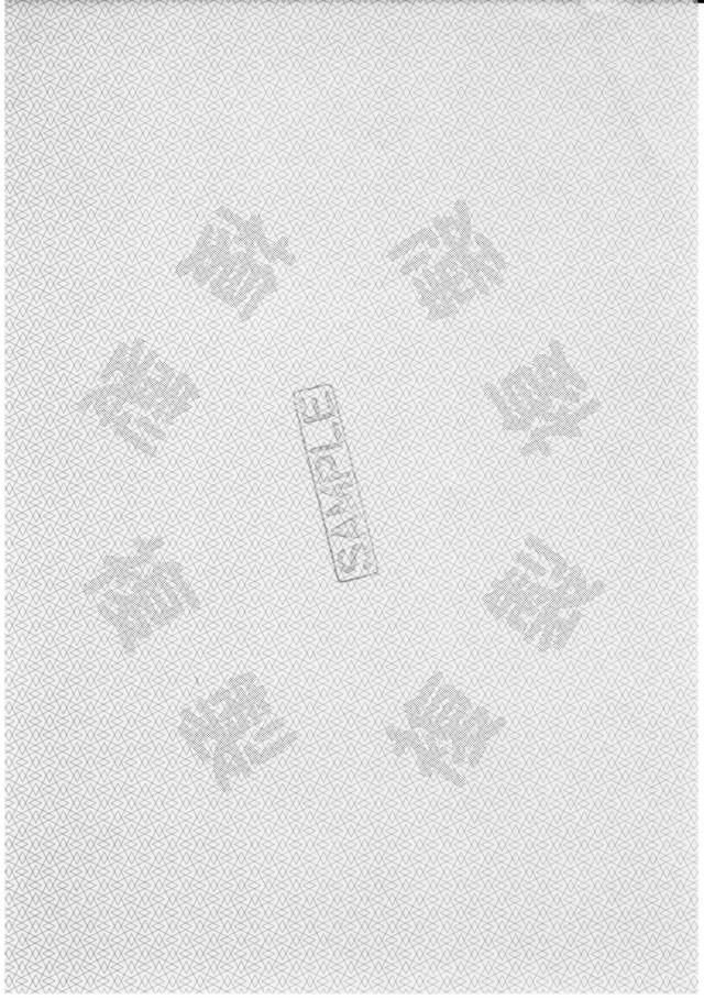 偽造防止用紙 A5 A5N-2C