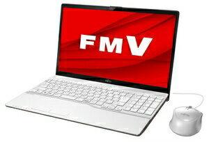 【新品未使用品】LIFEBOOK AH45/D / Win 10 / Office付き / Core i3-8145U / 16GB(Optaneメモリ)+1TB(HDD) / 8GB 15.6型 プレミアムホワイト
