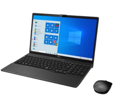 【新品未使用品】LIFEBOOK AH52/D3 / Windows 10 / Office付き / Core i5-8265U/ 32GB +約512GB SSD / 8GB 15.6型 ブライトブラック