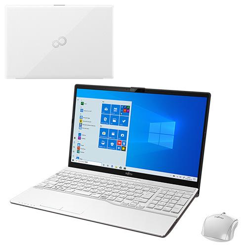 【再生品】LIFEBOOK AH77/D3 /Windows 10 /Core i7-9750H /32GB Optane + 512GB SSD + 1TB 8GB FHD Blu-ray Office