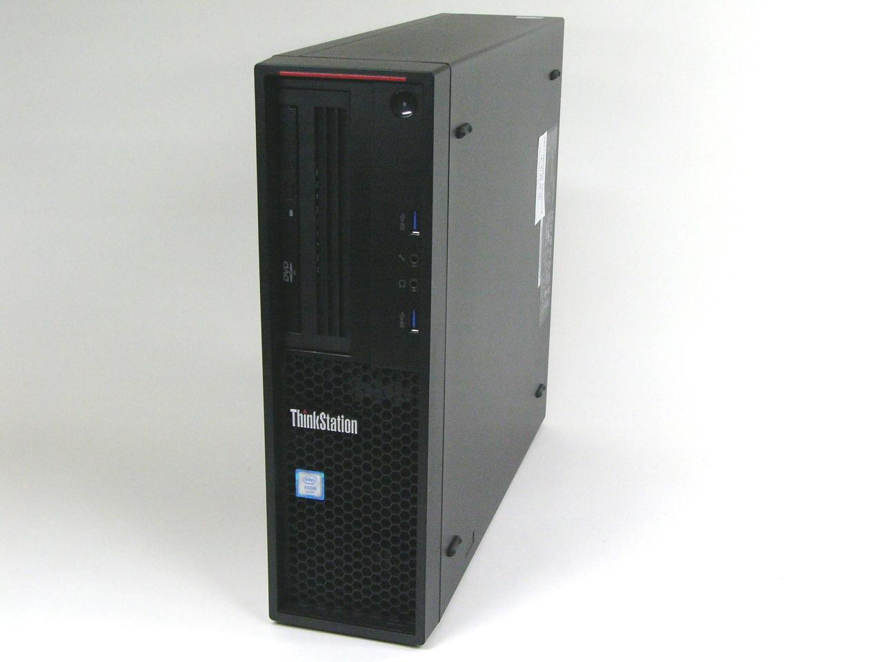 【再生品】ThinkStation P320 SFF /Windows 10 Pro /Xeon E3-1225 v6 /1TB 8GB Quadro P400