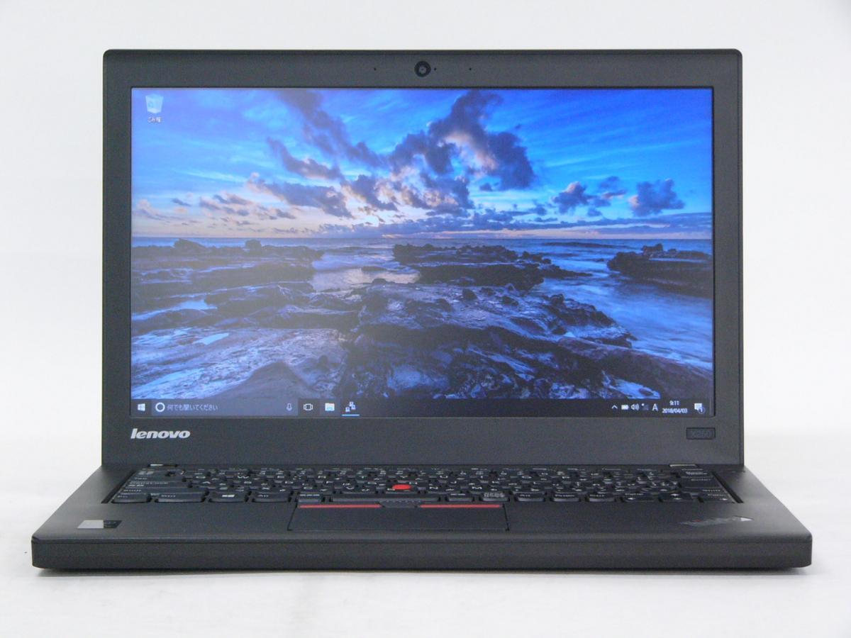 美品 ThinkPad X250 /Windows 10 Pro /Core i5-5300U /500GB 4GB