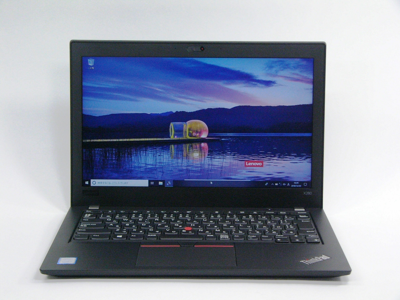 美品 ThinkPad X280 /Windows 10 Pro /Core i3-8130U /256GB SSD 4GB