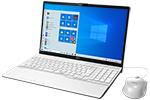 【再生品Aランク】LIFEBOOK AH49/D3 /Windows 10 /Core i5-8265U /512GB SSD 8GB FHD Blu-ray Office プレミアムホワイト